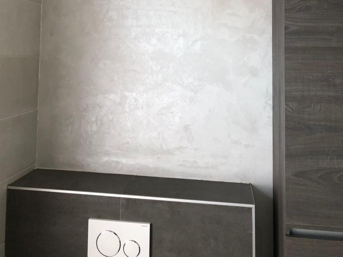 Beton Cire Waterdicht : Design beton ciré wanden keuken badkamer