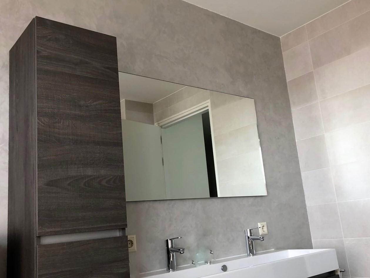 Gietvloer Wanden Badkamer : Design beton ciré wanden keuken badkamer